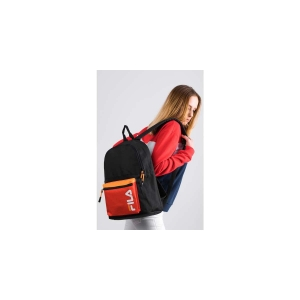 BACKPACK S'COOL L27 BLACK FIERY RED